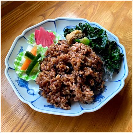 長岡式酵素玄米 和御膳 ¥800